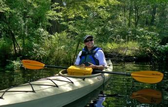 Kayaking on the Rad River
