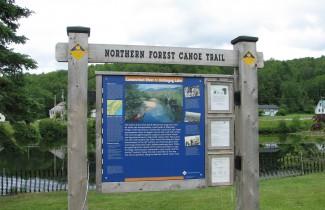 Kiosk - Northern Forest Canoe Trail