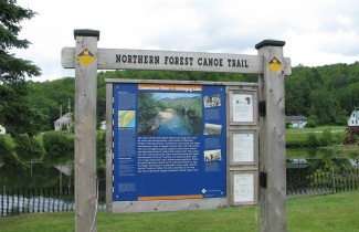 Kiosk - Northern Forest Canoe Trail