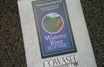 Wateree Map | Jamie Mierau