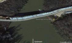 Bates Bridge Landing Altered (GoogleEarth)
