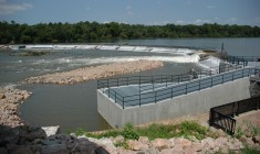 Columbia Dam Fishway (USFWS)