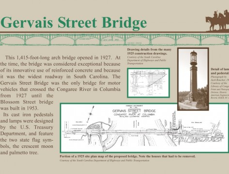 Gervais Street Bridge Sign (The River Alliance)