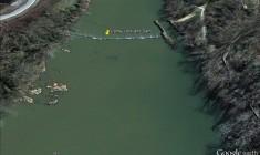Granby Lock & Dam (Google Earth)