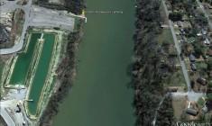 Jordan Landing (Google Earth)