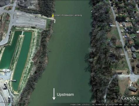 Jordan Landing Altered (Google Earth)