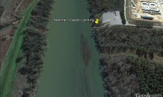 Newman Landing (Google Earth)
