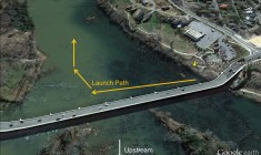 West Columbia Riverwalk Access Altered (Google Earth)