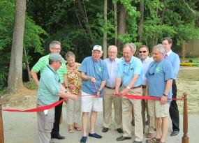 Hitchcock Creek Blue Trail dedication - May 2014   Gerrit Jobsis