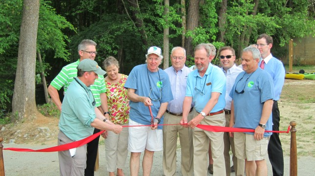 Hitchcock Creek Blue Trail dedication - May 2014 | Gerrit Jobsis