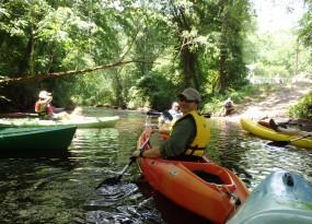 Hitchcock Creek dedication paddle - May 2014   Gerrit Jobsis