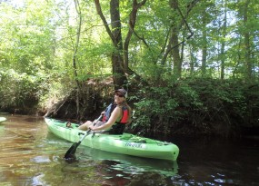 Hitchcock Creek dedication paddle - May 2014 | Gerrit Jobsis