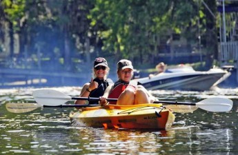 Paddling on the Waccamaw River Blue Trail | Charles Slate