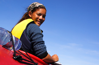 Girl-in-red-kayak-Veer