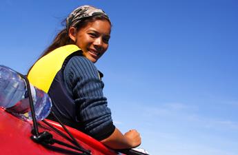 Girl-in-red-kayak-Veer