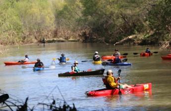 VRRO - Mens Single Kayak Division Lining Up