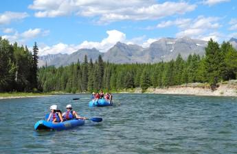 NF Flathead River ducky and raft_Fiebig