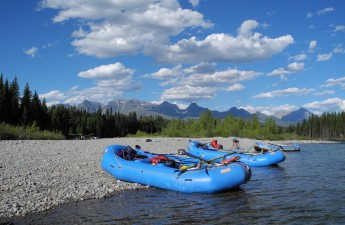 Rafts on North Fork Flathead_Fiebig