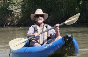 Bob Rothrock on verde river 2013