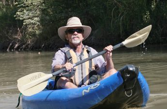 Bob Rothrock on verde river 2013